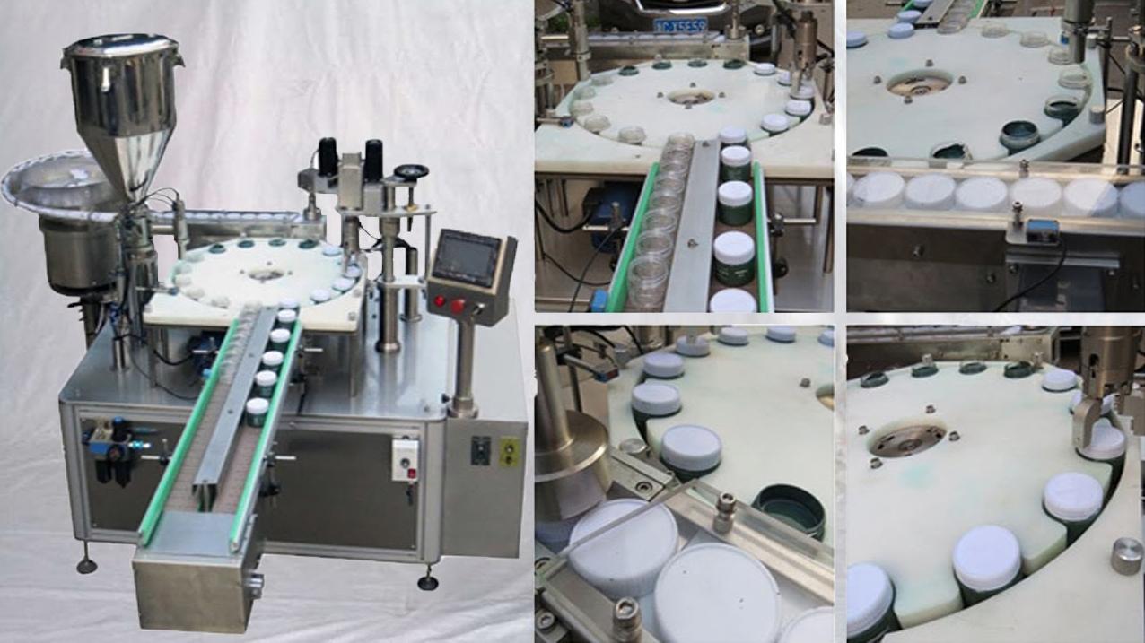 Các thiết bị sử dụng trong dây chuyền phối trộn và đóng gói sữa bột tự động: Máy thổi khí sạch: Khung máy chắc chắn được làm bằng sắt bọc inox 304. Hệ thống thổi khí và lọc khí tối ưu cung ứng nguồn khí sạch đảm bảo yêu cầu của sản phẩm. Đồng thời máy được thiết lập dễ dàng thao tác và vận hành giúp cho sự quản lý được dễ dàng hơn Máy lật lon tự động: Máy lật lon tự động nằm trong hệ thống tiệt trùng lon hoạt động nhanh chóng, hiệu quả đảm bảo độ chính xác cao. Đáp ứng yêu cầu trong sản xuất. Máy dễ vận hành và thao tác giúp cho việc quản lý và bảo trì dễ dàng. Đồng thời máy được bao bọc bởi inox 304 giúp cho tuổi thọ và tính bền vững của máy cao hơn. Máy tiệt trùng UV: Máy được thiết kế có đèn tiệt trùng UV giúp tiệt trùng sản phẩm đáp ứng những yêu cầu về an toàn thực phẩm. Đồng thời máy còn được trang bị hệ thống băng tải, phòng (buồng tiệt trùng) đảm bảo cho quá trình tiệt trùng phát huy công xuất tốt nhất. Ngoài ra máy tiệt trùng UV còn được bao bọc bằng inox 304 giúp tăng tuổi thọ cho máy một cách tốt nhất. Máy pha chế: Thiết bị sử dụng trong quá trình này là một cái nồi hai vỏ bằng inox. Bên trong có trang bị cánh khuấy 2 tầng để tăng tốc độ phối trộn. Lớp vỏ áo bên ngoài giúp ổn định nhiệt tránh xảy ra các phản ứng hóa học làm ảnh hưởng đến sản phẩm Hệ thống định lượng và chiết rót: Hệ thống cấp liệu tự động với khả năng giám sát tự động hóa cao đảm bảo độ chính xác, và ổn định về chất lượng của sản phẩm. Khung máy làm bằng sắt bao bọc inox 304 đảm bảo độ chắc chắn và tuổi thọ cho máy. Máy được trang bị hệ thống cấp nguyên liệu 2 đầu và hệ thống chiết 2 đầu cùng với hệ thống mâm xoay với chất liệu nhựa chống mài mòn đảm bảo quá trình chiết rót tiến hành nhanh chóng và đạt độ chính xác cao. Ngoài ra đi kèm với máy còn có tủ điểu khiển và những phụ kiện khác. Khung máy chịu áp lực cao, Sắt bọc Inox 304 Máy cấp nắp: Máy cáp nắp thiệt kế chắc chắn và được bao bọc bởi inox 304. Máy được trang bị mâm xoay làm bằng nhựa chóng mài mòn giúp cho quá trình cấp nắp được