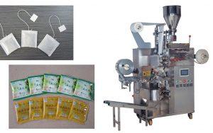Máy đóng gói trà túi lọc 5 trong 1 giữ vai trò vô cùng quan trọng giúp các cơ sở không những nâng cao chất lượng sản phẩm mà còn đẩy mạnh năng suất làm việc và tiết kiệm chi phí. Vì hiện nay trên thị trường máy đóng gói đã được đa dạng hóa về mẫu mã, chức năng, giá thành,…; tùy vào nhu cầu sản xuất của mỗi cơ sở mà lựa chọn cho mình loại máy phù hợp nhất. Công ty Máy Đóng Gói An Thành xin giới thiệu tới quý khách hàng máy đóng gói trà túi lọc tự động – 1 công cụ vô cùng hữu ích cho cơ sở sản xuất của bạn. Chi tiết về máy đóng gói: Máy được thiết kế tự động chiết rót bột trà, tạo túi giấy, xâu chỉ, dán tem, đóng bao ngoài là 5 chức năng trong một sản phẩm Máy đóng gói trà túi lọc 5 in 1. Sản phẩm là một thiết bị tiện lợi hỗ trợ đắc lực các cơ sở sản xuất trà túi lọc, giúp đẩy nhanh tiến độ hoàn thiện sản phẩm, tăng năng suất và đảm bảo sản phẩm được đóng gói chắc chắn, đẹp mắt, giữ nguyên hương vị vốn có. Hầu hết các sản phẩm sau khi sản xuất đều cần được đóng gói để bảo quản tốt hơn và vận chuyển an toàn hơn, đặc biệt là các mặt hàng mỹ phẩm, thực phẩm, dược phẩm,…. Chính vì thế,máy đóng góigiữ vai trò vô cùng quan trọng giúp các cơ sở không những nâng cao chất lượng sản phẩm mà còn đẩy mạnh năng suất làm việc và tiết kiệm chi phí.