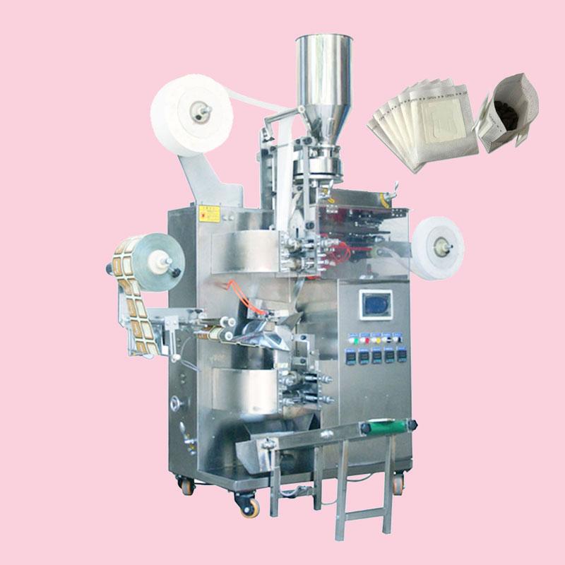 Máy đóng gói trà túi lọc dạng túi drip:  Với sản phẩm đựng là túi drip nên có thể đóng nhiều loại sản phẩm khác nhau và đối với cách đóng gói lần này sản phẩm được sử dụng nhiều hơn: cafe , các loại trà thảo mộc, các loại dạng bột,...  Qui trình đóng gói trà túi lọc 3 trong 1: Cốc đo có thể tự điều chỉnh phép đo trong trường hợp thời gian ngừng hoạt động. Với thiết kế tự động nên máy sẽ ngưng hoạt động khi có sự cố xảy ra hoặc không có nguyên liệu để sản xuất, qua đó tiết kiệm được vật liệu không bị đóng không lãng phí Bộ phận làm kín: quá trình con lăn vận hành được thiết kế đặc biệt và hiệu quả của việc làm kín rất tốt. Làm cho sản phẩm vừa đều vừa đẹp mắt Có sẵn chức năng cân tự động để khách hàng đóng gói. Không cần lo sản phẩm thiếu hụt hay dư trọng lượng Ở các đầu của niêm phong chéo của túi trong và ngoài có lỗ tra dầu , dầu thường xuyên đảm bảo rằng máy hoạt động bôi trơn, bôi trơn đầy đủ có thể giảm tỷ lệ hỏng và cải thiện tốt hơn cho sản phẩm Sự thay đổi nhiệt độ niêm phong tối thiểu sử dụng nhiệt độ PID, dung sai được kiểm soát bởi ± 2%. Thông số kỹ thuật: Tình trạng: Mới Chức năng: Điền, Bọc, Dán nhãn, Đóng nắp, Niêm phong, ĐÓNG HỘP Ứng dụng: Thực phẩm, đồ uống, hàng hóa, hóa chất, máy móc & phần cứng, APPAREL, Dệt may Loại bao bì: Túi đứng, Túi, Phim, Túi Vật liệu đóng gói: nhựa, giấy Lớp tự động: Tự động Loại điều khiển: Điện Điện áp: 220V 50 / 60Hz Kích thước (L * W * H): 1200 * 8940 * 81700mm Chứng nhận: CE Dịch vụ sau bán hàng được cung cấp: Phụ tùng thay thế miễn phí, Lắp đặt tại hiện trường, vận hành và đào tạo, Dịch vụ bảo trì và sửa chữa tại hiện trường, Hỗ trợ kỹ thuật video, Hỗ trợ trực tuyến Bảo hành: 2 năm Các điểm bán hàng chính: Mức độ an toàn cao Chất liệu: Thép cứng Tính năng: Hiệu quả cao Tốc độ đóng gói: 50 ~ 90 bao / phút Số lượng thiết bị niêm phong: 2 bộ Phương pháp niêm phong: Niêm phong và cắt bằng sóng siêu âm Chiều dài niêm phong: 50, 60, 70, 80mm Chiều rộng cuộn đóng gói: 140mm, 160mm, 180mm Phạm vi làm đầy: 1 ~ 5g / túi, độ ch