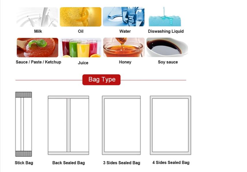 Máy đóng gói túi rời là máy đóng gói đa năng có thể đóng gói nhiều sản phẩm, kích thước, nguyên vật liệu khác nhau,.... Máy đóng gói này được nhiều cơ sở, doanh nghiệp tin dùng vì khả năng đóng gói da dạng của nó mang tới. Vì có thể đóng gói da dạng các sản phẩm chỉ việc thay thế linh kiện sau cho phù hợp là được nên quá trình sản xuất sản phẩm vô cùng đa dạng và phong phú Dưới đây là các dạng máy đóng gói túi rời với các sản phẩm được đóng gói khác nhau về nguyên vật liệu, kích thước,... chúng ta cùng tìm hiểu thử chúng khác biệt như thế nào nhá!! Máy đóng gói túi rời dạng stick: Máy đóng gói túi rời này phù hợp với các loại đóng gói sản phẩm dạng bột khác nhau như: Chẳng hạn như bột trà, bột protein, hỗn hợp đồ uống rắn, bột cà phê, sữa bột, gia vị, bột y tế, bột hóa chất, chất lỏng, các dạng vật rắn,... Tính năng hoạt động của máy: Máy có khả năng đóng gói nhiều loại túi khác nhau và kích thước cũng khác nhau: như dạng túi gối, túi 3 góc, 4 góc, dạng stick 2 đầu, ... Vì là để sản xuất thực phẩm nên tất cả các vật liệu của máy đóng gói đều là chất liệu thép 304 không gỉ để đảm bảo an toàn vệ sinh thực phẩm. Và để máy hoạt động ổn định hơn cho quá trình sử dụng không xảy ra điều gì Với công nghệ tiên tiến, chúng ta có thể dễ dàng cài đặt quá trình sản xuất thông qua các thông số được tích hợp trên màn hình cảm ứng. Bảng điều khiển thông minh PLC của máy đóng gói hỗ trợ ta rất nhiều trong quá trình sản xuất Chỉ cần vài thao tác cài đặt đơn giản là ta có thể vận hành máy đóng gói tự động, tiết kiệm được nhân công đứng máy và vận hành các bước sản xuất theo cách truyền thống Cân đo sản phẩm --> Tạo hình túi --> Đưa sản phẩm vào túi --> Niêm phong --> Cắt rời sản phẩm Máy đóng gói còn được trang bị ứng dụng để nhận biết nhãn hiệu trên bao bì đóng gói và được cài đặt để indate lên sản phẩm ( Tuy nhiên, đối với một số sản phẩm thì không cần đến việc indate. Nên bước này có thể bỏ qua) Một số thông tin kỹ thuật về máy đóng gói túi rời dạng stick: Tình trạng: Mới Loại điều