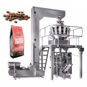 Máy đóng gói cà phê rang xay và nguồn gốc bắt đầu: Đối với cà phê dụng cụ rang là yếu tố quyết định tạo nên hạt cà phê có chất lượng không, hương vị có ổn định không? Được biết đầu thế kỷ XV ở Đế chế Ottoman và Đại Ba Tư đã tìm ra cách rang cà phê đầu tiên trên chiếc chảo mỏng từ sứ, kim loại,... Mãi đến những năm của thế kỷ XIX ở các nước lớn như Hoa Kỳ, Châu Âu người ta đã hình thành các nhà máy để sản xuất cà phê. Từ năm 1950 - 1980, cà phê đã trở thành thức uống không thể thiếu trên thế giới. Và từ đó ngành công nghiệp cà phê dành cho người sành ăn đã có sự phát triển vượt bậc. Xu hướng này tiếp tục sang thế kỷ 21. Cà phê rang xay được coi là quá trình hình thành thông qua các phương pháp rang chế biến, chúng làm cho tính chất có bên trong cà phê thay đổi tạo ra hạt cà phê có mùi vị đặc biệt và đặc trưng riêng biệt.Hạt cà phê chưa rang có chứa hàm lượng axit, protein, đường và caffein cao hơn nếu không muốn nói là cao hơn so với hạt đã rang, nhưng không có hương vị của hạt cà phê rang do các phản ứng hóa học khác xảy ra trong quá trình rang. Cà phê rang xay nguyên chất được hiểu đơn giản là cà phê được chế biến từ 100% hạt không pha lẫn thành tố khác như đậu rang cơm cháy rang hay bắp rang hay các phụ phẩm khác. Máy đóng gói cà phê rang xay được sản xuất và đưa chúng vào thành dây chuyền đã góp phần tạo ra sản phẩm vô cùng đẹp mắt, thu hút được các tín đồ cà phê. Bên cạnh chúng đẹp mắt ra, sự đồng nhất, còn có thể giữ đuộc hương vị đặc trưng vốn có của cà phê. Máy đóng gói An Thành giới thiệu bạn vài chiếc máy đóng gói cho doanh nghiệp bạn lựa chọn để tìm ra thiết bị phù hợp hơn. Máy đóng gói cà phê rang xay tự động: Đối với máy đóng gói cà phê rang xay tự động này ngoài cà phê dạng hạt hay xay thì đều có thể đóng gói. Bên cạnh đó, ta có đóng gói các dạng khác nhau như dạng rắn, dạng khối, chất lỏng, dạng sệt,.... Với các bao bì phong phú không kém phần đa dạng từ túi hộp, túi đứng, túi có lỗ,... Máy đóng gói cà phê rang xay tự động Vậy tính năng gì có trên thiế
